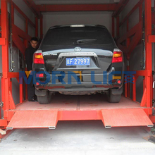 low price heavy weight electric vertical hydraulic car lift equipment