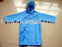 Nice design waterproof blue kids rainwear