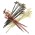 Twisted Ends Bamboo Knotted Picks Cocktail Picks 100 Ct 15cm