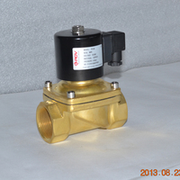 low price flange connection solenoid valve 3v dc