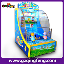 Qingfeng coin pusher ticket/ coin redemption game machine ML-QF519 ticket amusement redemption arcade games