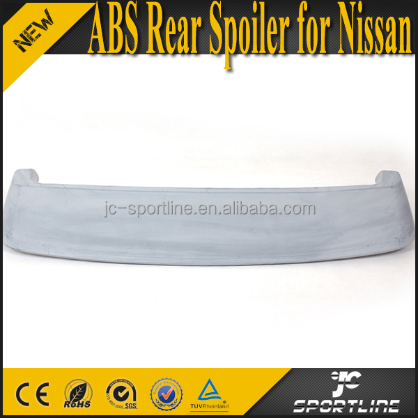 ABS Unpainted Rear Spoiler Wing with Aero Light LED for Nissa n Autech