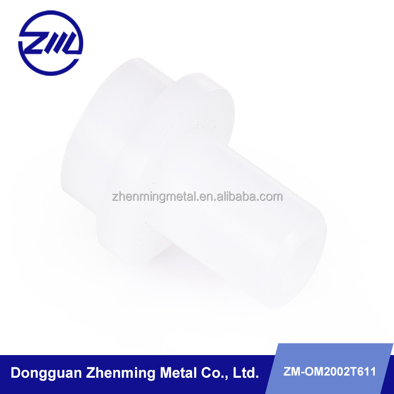 CNC machining precision small fittings supplier POM custom cnc plastic turning parts