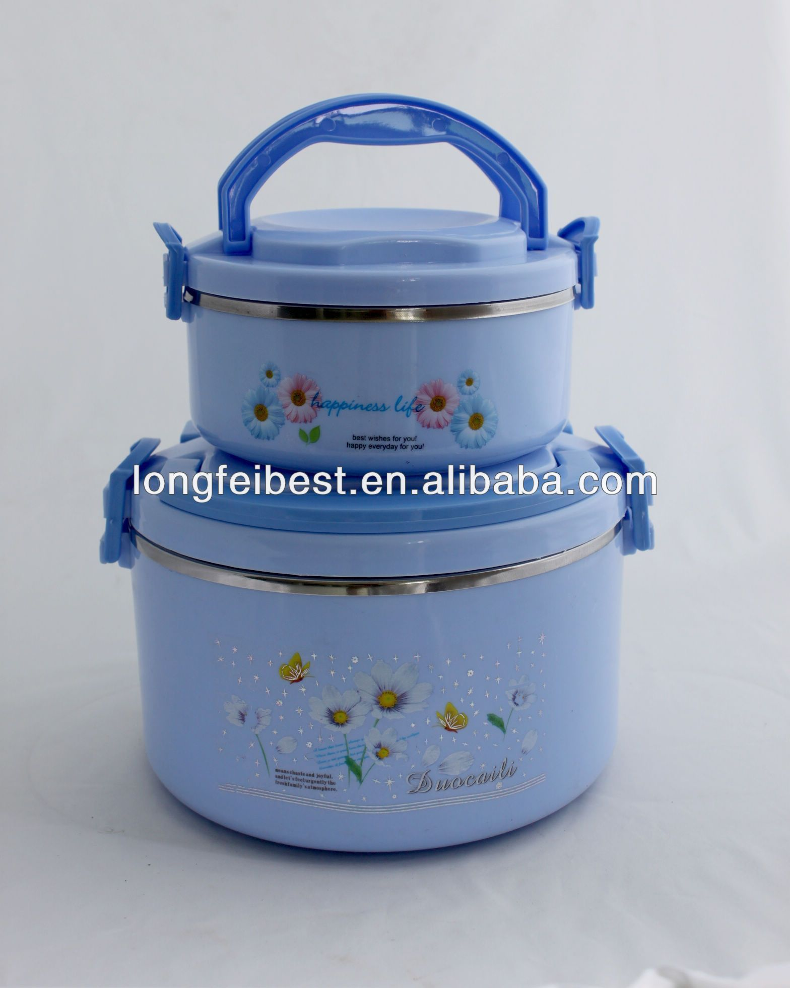 Porpular Plastic Insulated Storage Food container /Food Warmer with ss inner