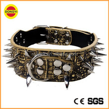 High quality pet dog collar pet collar factory dog collar genuine leather
