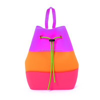 Most Popular Colorful Backpack Silicone Backpack Bag