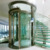 Cheap 4 person passenger home small round glass elevator lift price