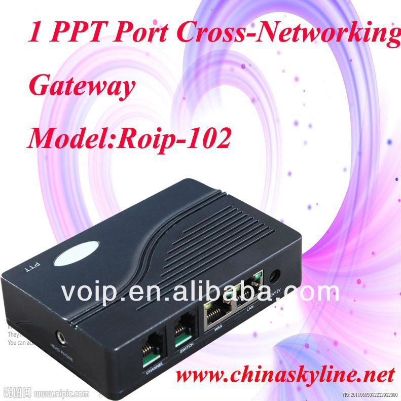 RoIP 102, roip sip gateway,cross-networking gateway