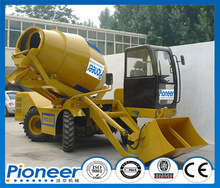 3.5 CBM Self Loading Mobile Self Propelled Concrete Mixer Truck with Weighing System