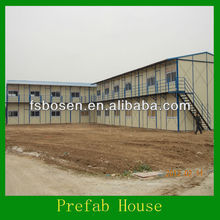 2013 fashion ecnomic movable dormitory/prefab insulated houses/prefab shed office