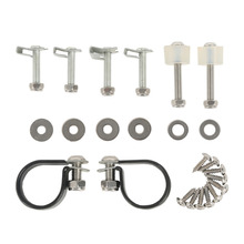 XF2906122 Lower Vented Fairing Mounting Kit Bolts Set For Road King Street Glide
