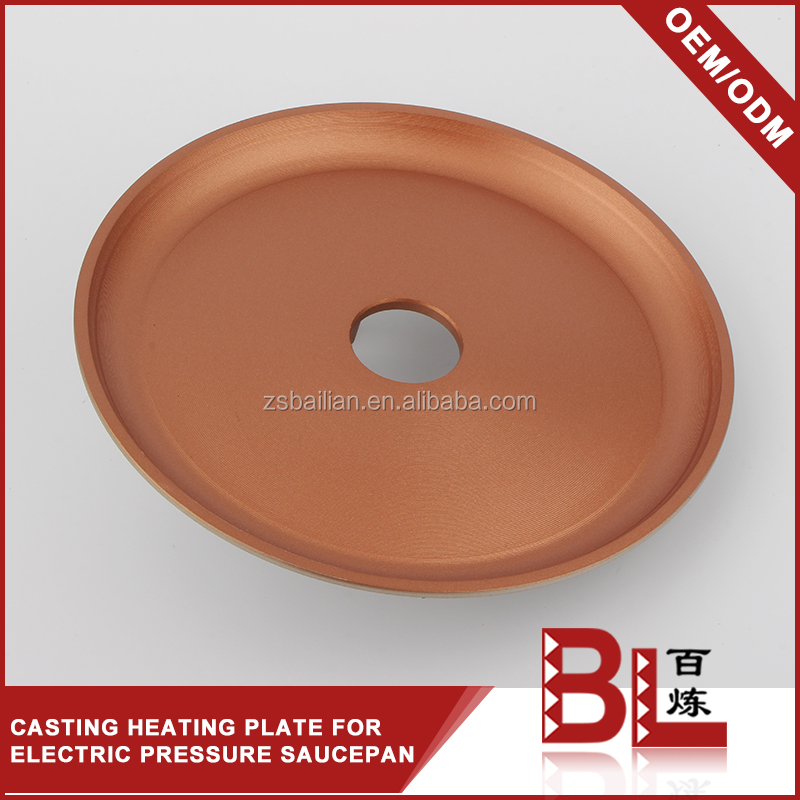 Industrial electric cooking pot stainless steel heating plate supplier