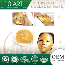 OEM 24k Gold Bio-Collagen Facial Anti-wrinkle Lifting Moisturizing Collagen Crystal Face Mask