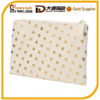 Lovely Faux Leather Cosmetic Pouch