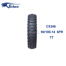 FEIBEN BRANDED TIRES CX246 OFF BRAND TIRES 90/100-14 OFF ROAD MOTORCYCLE TYRE