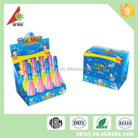 Hot summer plastic toys 12pcs children funny colorful bubble wand