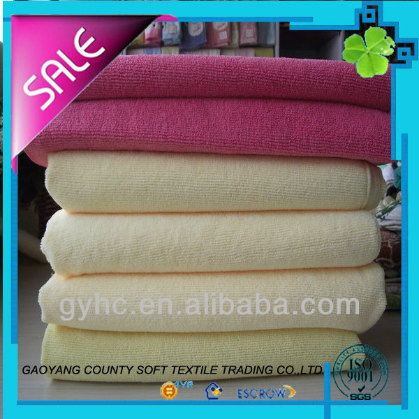 custom quality soft superfine fibre microfiber towel