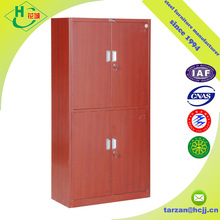 hinges door metal office furniture steel cabinet with appearance looks like wood
