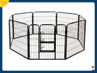 24-Inch Heavy Duty Pet Playpen Cat Fence S Dog Exercise Pen