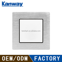 86*86 type silver wire drawing cover blank plate for wall switch