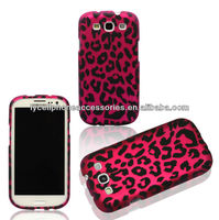 Cell Phone Case for AT&T,T-Mobile,Sprint,Verizon Samsung I9300 Galaxy S 3-Pink Leopard