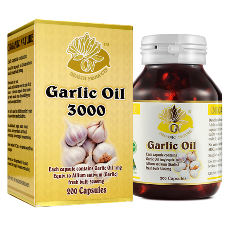 Performance helps digestion garlic oil softgel capsule