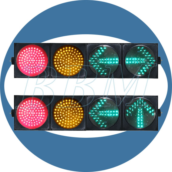 Ball and arrow road safety semaforo 200mm