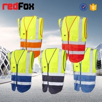 Protection Security Safety Vest With Reflective