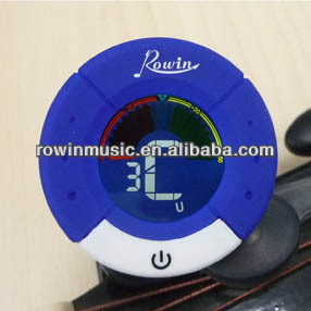 ROWIN MUSIC Clip-on guitar chromatic tuner