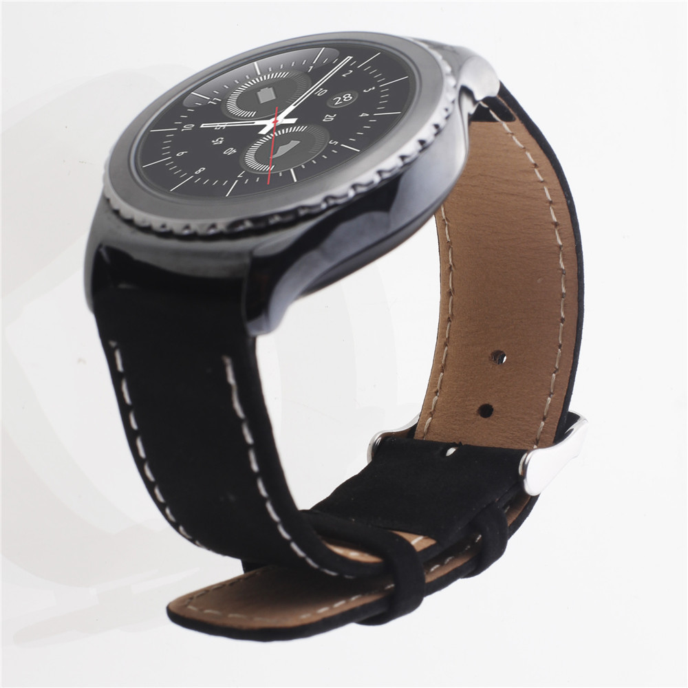 Genuine leather watches band for Galaxy gear s2