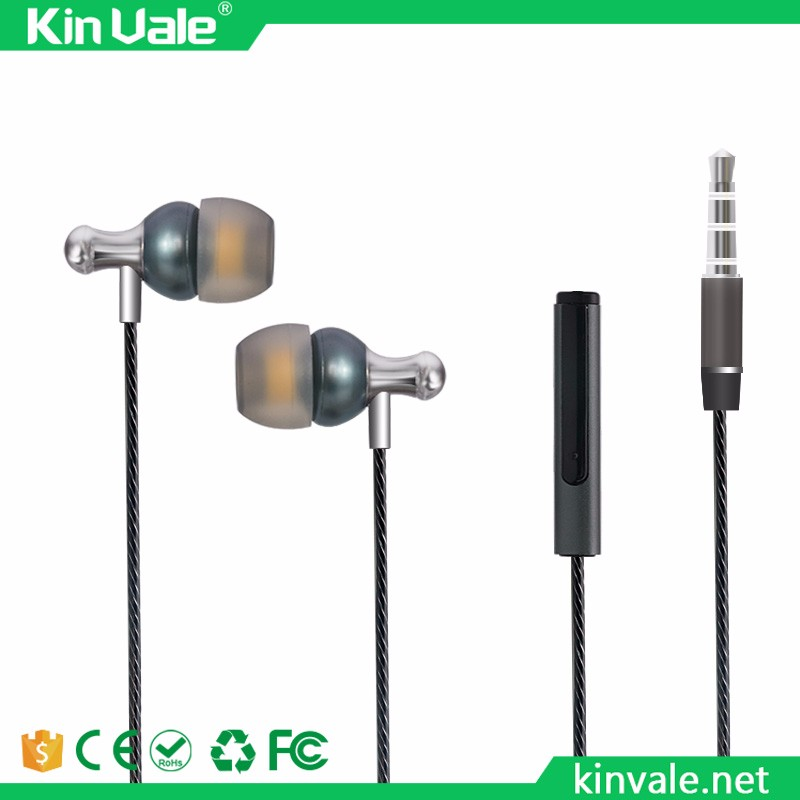 Earbuds with bass, China stereo metal earphone from cord headphone Manufacturers