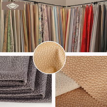 Knitted 100 Polyester Microfiber Embossing Very Soft Sofa Upholstery Fabric
