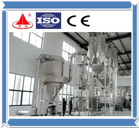 High quality JG flash dryer for carbon powder/calcium stearate/active carbon