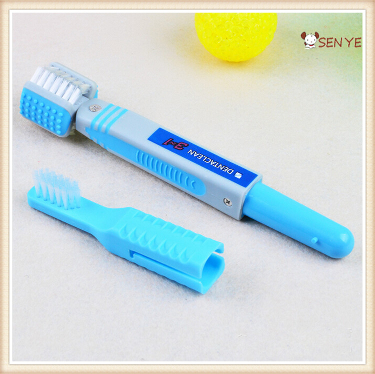 Pet Grooming Comb Double-end Dog Toothbrush