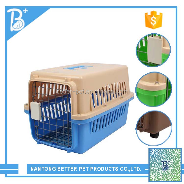 Dog Aviation Box/Travel Carrier For Small Animal Cages Cheap Pet Products