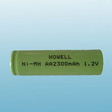 Low Self Discharge Rechargeable 1.2V AA 2300mAh NIMH Battery For Cameras