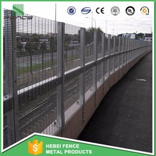 Cheap high quality anti climb security fence/pvc coated no climb fence for sale