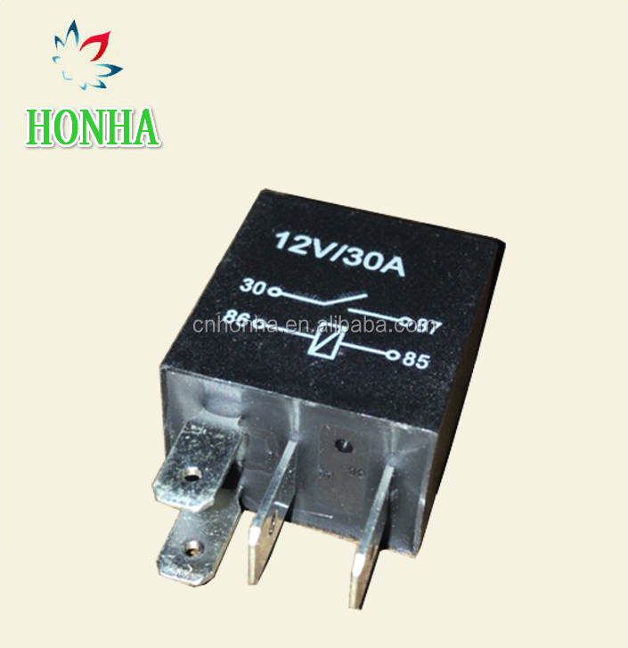 12V 30A 4 pin micro automotive relay
