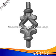 alibaba china supplier fast delivery hand forged iron stair component
