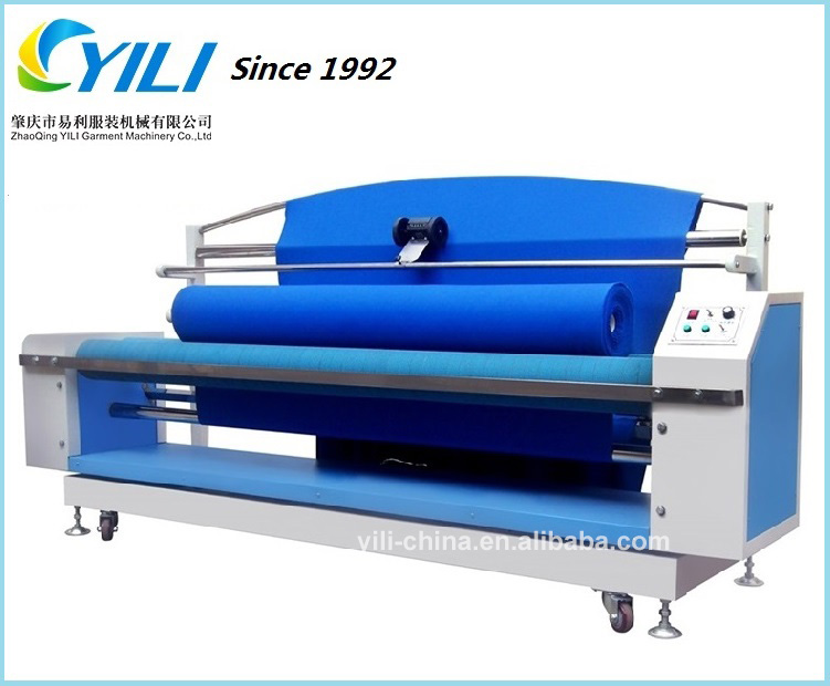Full function fabric winding and length measuring machine, Woven and knitted fabric automatic edge winder