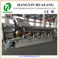 Straight wire drawing machine manufacturer of steel wire for staple