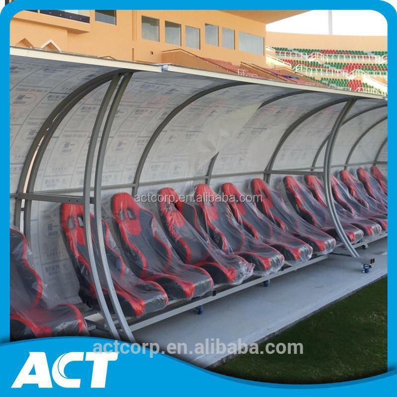 Guangzhou Portable Outdoor soccer dugouts for players and substitutes