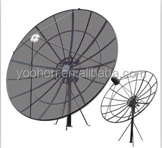 2.4m TV Satellite Dish Antenna Aluminum Mesh Antenna