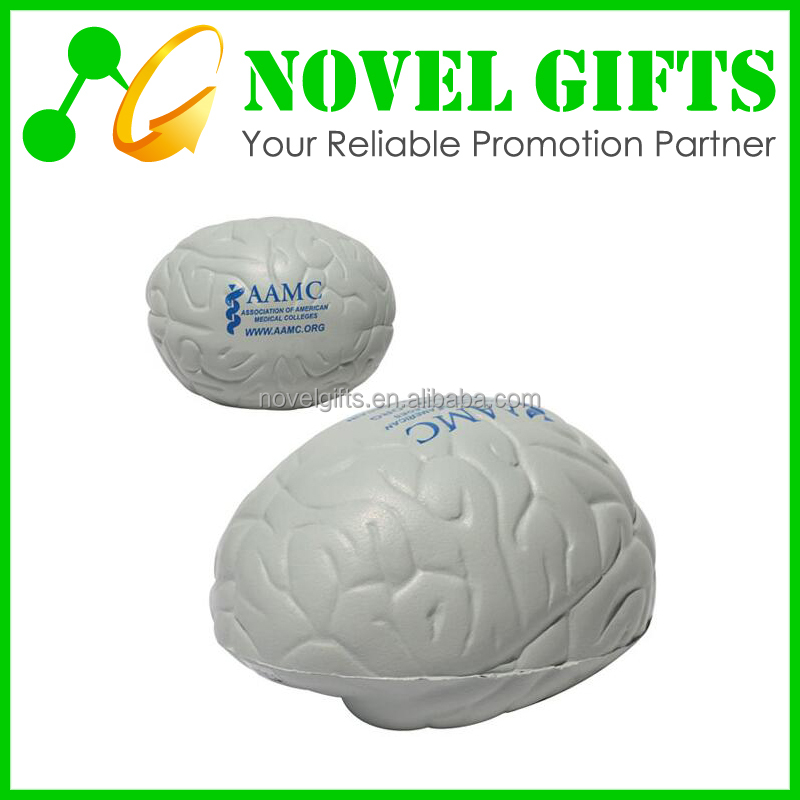 Promotion Gifts Brain Shape PU Anti Stress Reliever Balls
