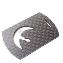 custom made carbon fiber sheet/plate/panel cnc cutting services