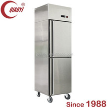 double door home side by side pull door fridge