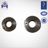 Worm gear for tank mashing machine
