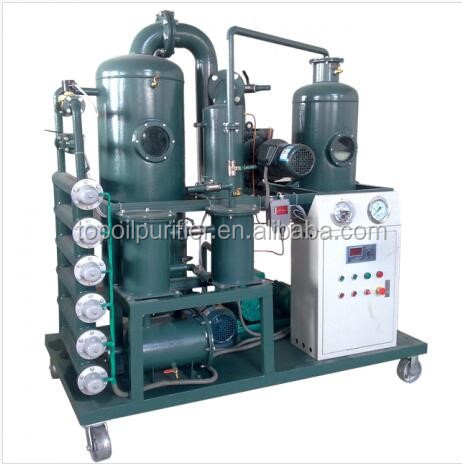 ZYD-I Series vacuum transformer oil treatment plant improve dielectric strength and oil color