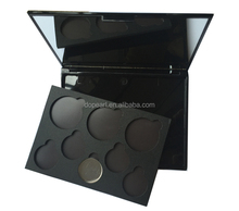 145x110x13mm empty cosmetic plastic palette magnetic empty makeup eyeshadow palette