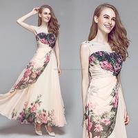 colorful A-Line Lace and Chiffon wedding dress